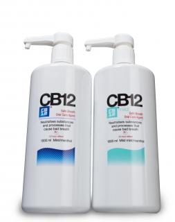 CB12 Menthol or Mild Mouthwash 1lt Pump