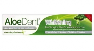 AloeDent Whitening Aloe Vera Flouride Free Toothpaste 100ml