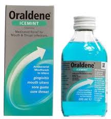 Oraldene Mouthwash Icemint 200ml