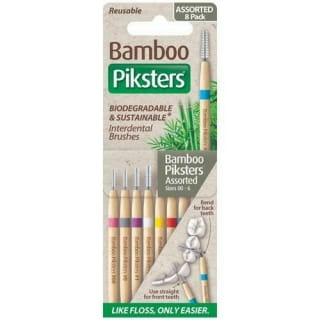 Piksters Bamboo Interdental Brushes *New*