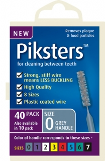 *NEW* Piksters bulk pack 40 brushes)