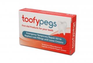 Toofypegs crown and fillings Repair Kit